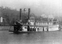 Photo of the Steamer JOHN W. AILES from the collection of California Area Historical Society, Collection 1995-05.
