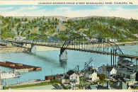 Charleroi Monessen Bridge  From collection of Norman Crawford