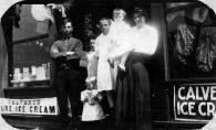 Lon Rothey outside his family store with various family members circa 1916. Photos from Betsy Banzen who can be contacted at jrbeab@aol.com