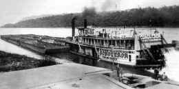 Photo of Steamer CONQUEROR from Monongahela River Buffs collection