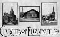 A few of Elizabeth Churches postcard dated 1915