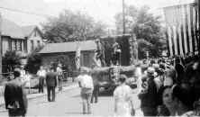 Elizabeth Pa Parade 1934   American Legion Float  From collection of Glenn Myers