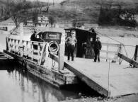 Photo of Fredericktown Ferry, based upon the car the date is probably during the 1920s
