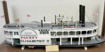 Model built by R. F. Caulkett sometime during 1930s.  Model is in possession of William Caulkett of Elizabeth, PA 2014.  William's son is Zach Caulkett and Zach's cousin is Jeremy Stiehl also of Elizabeth.