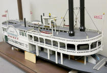 Model built by R. F. Caulkett sometime during 1930s.  Model is in possession of William Caulkett of Elizabeth, PA 2014.  William's son is Zach Caulkett and Zach's cousin is Jeremy Stiehl also of Elizabeth