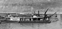 Towboat ISSAC M MASON in 1908