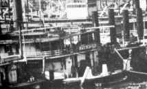 Steamer JOS. NIXON close up from larger photo