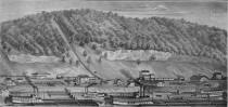 From the Rumsey Collection,  The Illustrated Atlas of the Upper Ohio Valley