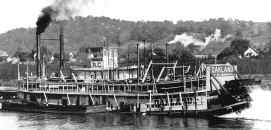 Photo of Steamer OAKLAND from Way's Towboat Directory