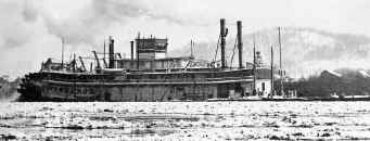 Photo of Steamer PITTSBURGH from S&D Reflector March 1979