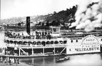 Packet Boat Elizabeth loading passengers sometime during the 1890s
