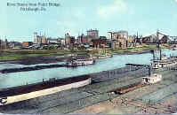 City seen from Point Bridge 1913
