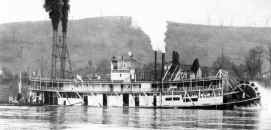 SAMUEL CLARKE photo from Way's Steam Towboat Directory
