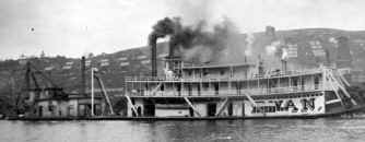 Photo of Steamer SWAN from collection of William Fels