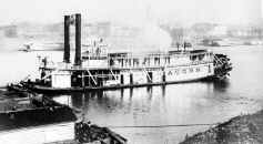 Steamer Acorn built 1872   Photo from collection of Bill Stintson