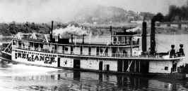 Steamer Reliance named in 1924