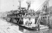 Steamer SWAN photo from collection of Monongahela River Buffs
