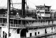 Closer view of Steamer TRANSPORTER
