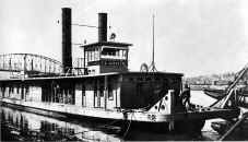 Photo of Tug CLAIRTON is dated October 1918, from S&D Reflector June 1979