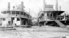Photo of Steamer W. K. FIELD from collection of William Fels.