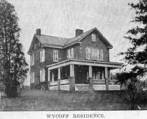 Wycoff residence, photo circa 1920 from collection of Norma Werner