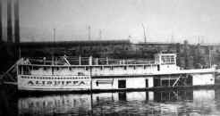 Steamer ALIQUIPPA painted all white