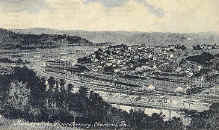 Monessen Steel Mill as seen from North Charleroi  1910