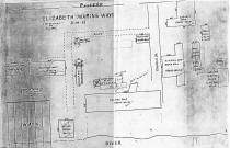 1933 layout of EMW that Tom used to help him accurately build his model