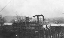 This photo of the J. A. DONALDSON is labled as being taken at the Elizabeth Marine Ways boneyard circa 1912