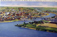 Mckeesport 1938  Juction of Monongahela and Yough Rivers