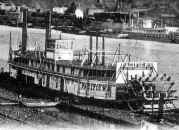 Close up of Steamer Pacific No. 2